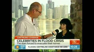 Jess (from The Veronicas) talks about the Queensland Floods