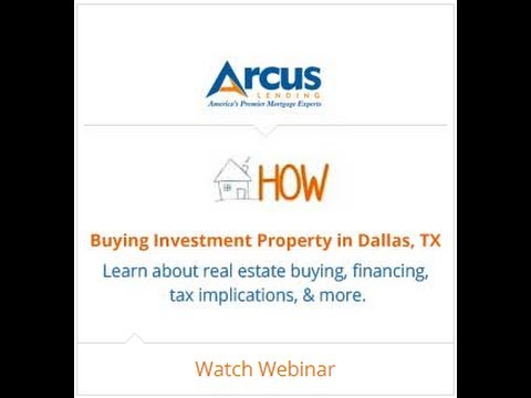 Real Estate Investing :Buying Investment Property in Dallas, TX