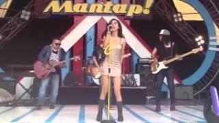 Chika kinsky at MANTAP ANTV