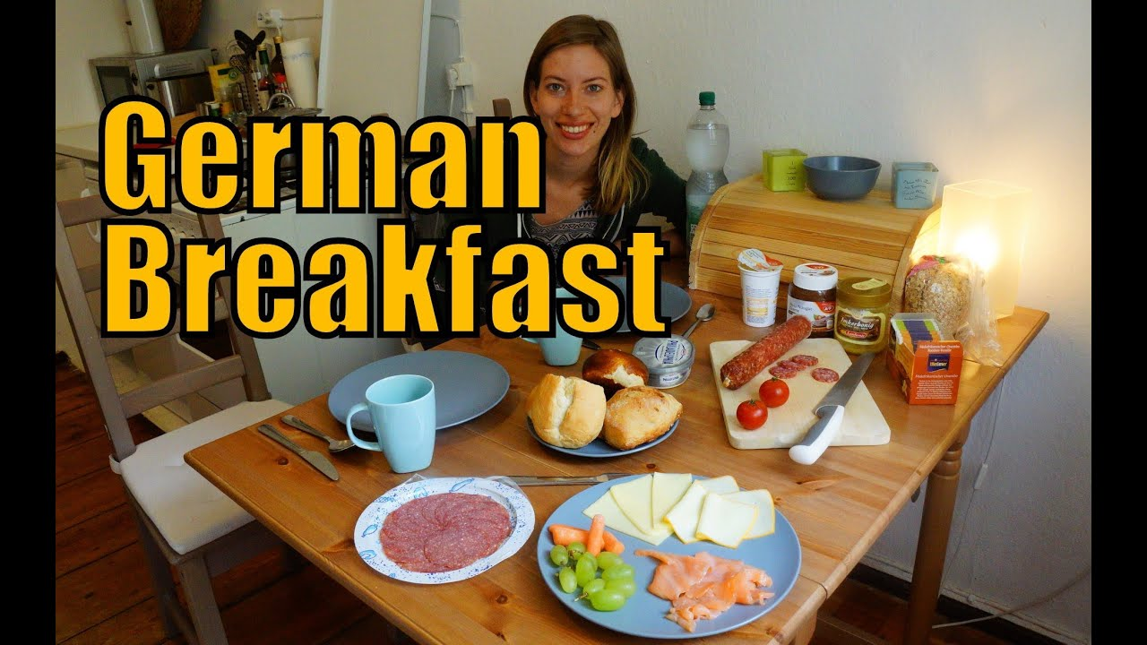 german breakfast das fr hst ck youtube. Black Bedroom Furniture Sets. Home Design Ideas