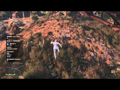 「Fat Cat」PS4遊戲-「GTA Online」-『如何超快速完成「超危險跳傘」(搞笑版)』!