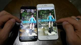 Samsung Galaxy S8 vs. Apple iPhone 7 Plus összehasonlitó videó