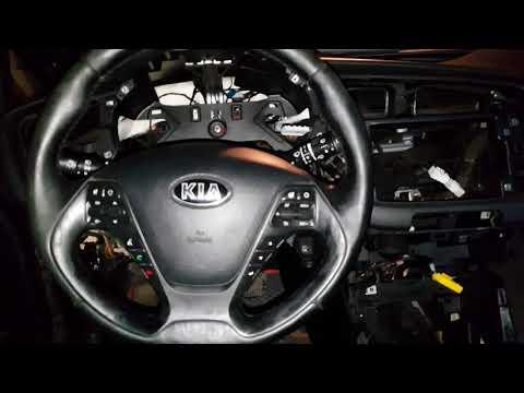 Установка климат контроля в Kia Ceed JD