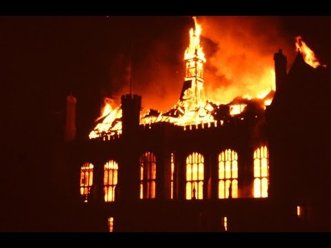 Special Report: The great fire at Bedford School remembered