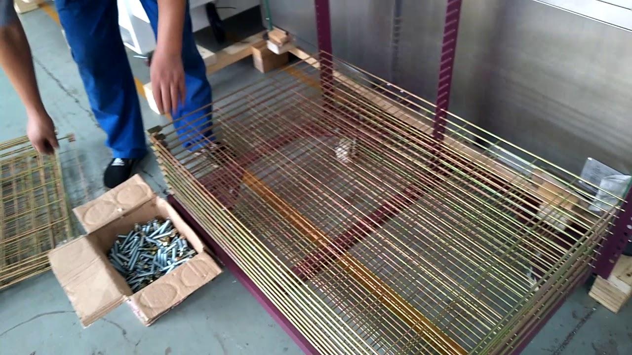 screen printing drying racks screen trolley racks storage racks assembly episode 1
