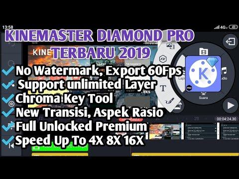 Kinemaster Diamond Pro Apk Terbaru 2019 Kinemaster Tanpa Watermark Full Unlocked Premium By Ikon