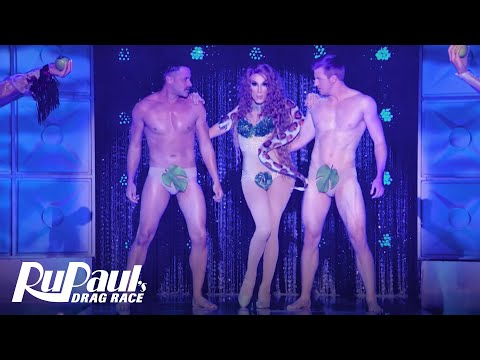 Alaska Tames the Serpent as 'Eve' in HERstory of the World | RuPaul's Drag Race All Stars (Season 2)