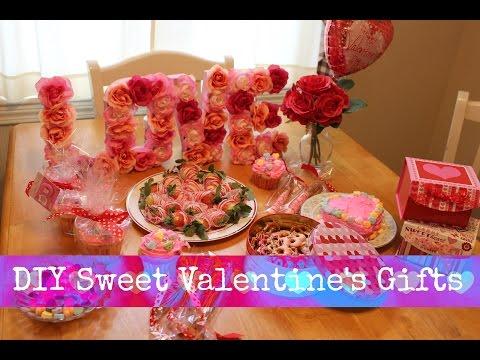 Sweet DIY Valentine's Gifts