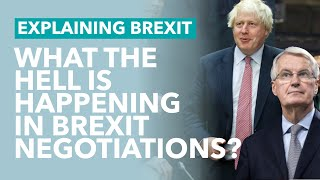 Brexit Negotiations: What The Hell is Happening? - Brexit Explained