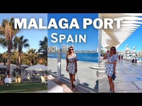 Malaga Port Day Time Stroll