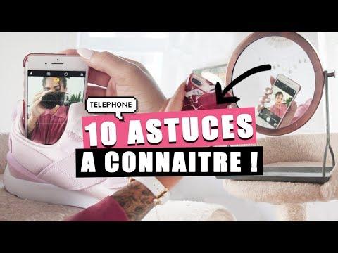 10 ASTUCES TELEPHONE POUR DE MEILLEURES PHOTOS!