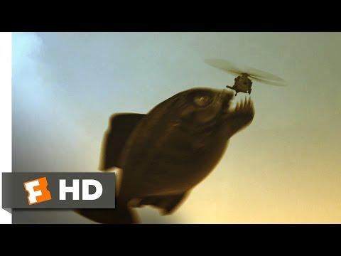 Mega Piranha (10/10) Movie CLIP - You're Fish Food (2010) HD
