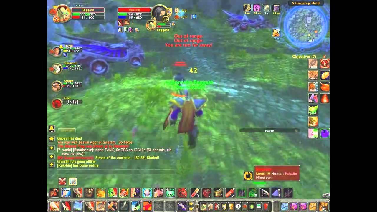 Level 19 twink warrior