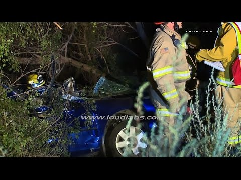 405 Fatal Traffic Collision / Torrance  RAW FOOTAGE
