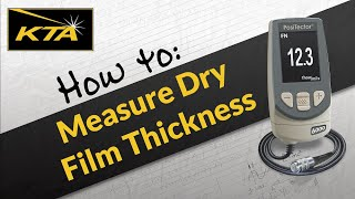 How to Measure Dry Film Thickness with the PosiTector 6000 F-Series Meter(, 2013-02-20T18:53:53.000Z)