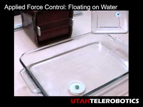 Utah Telerobotics: Omnimagnet Performing Force Control on a Floating Magnet