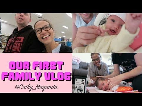 Our First Family Vlog | Just Cathy (TAGLISH)