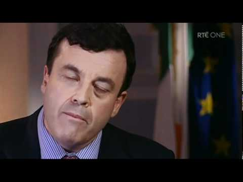 Brian Lenihan 'We All Partied' on Prime Time 24/11/10