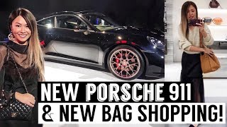 Vlog: Shopping for my New Bag & New Porsche 911 Launch | Mel in Melbourne