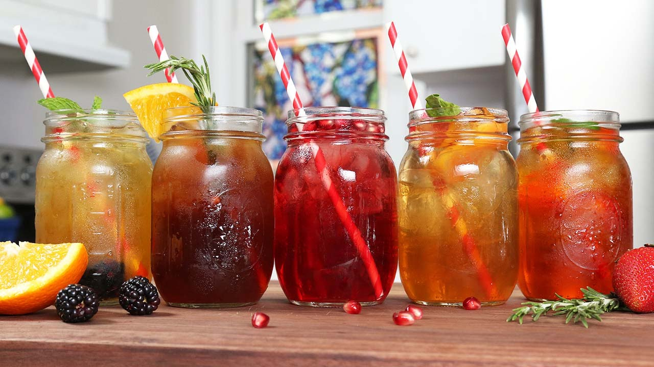Fruit Iced Tea Drinks