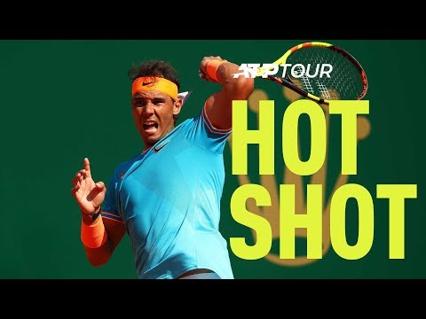 Hot Shot: Nadal Finds Incredible Angle On Forehand Winner At Monte-Carlo 2019