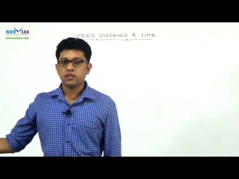 Speed, Distance and Time | Previous Year Question Solved | CSAT | Part - 1