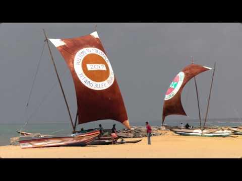 Sri Lanka - Negombo Beach, ein Tag am Strand