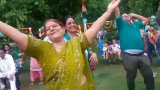 Hariyali Teej celebrate by Delhi Laughter Club
