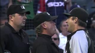 2012/08/25 Pierzynski, Ventura ejected