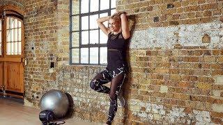 Core training with a swiss ball | Jenni Falconer x QVC