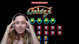 Space Bugs! | Amy Plays Galaga (1981)