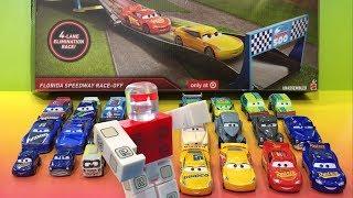 Voitures 3 Lightning McQueen - Roblox Toy ED TRUNCAN GAGNANT de Disney Cars Florida Speedway Race-Off