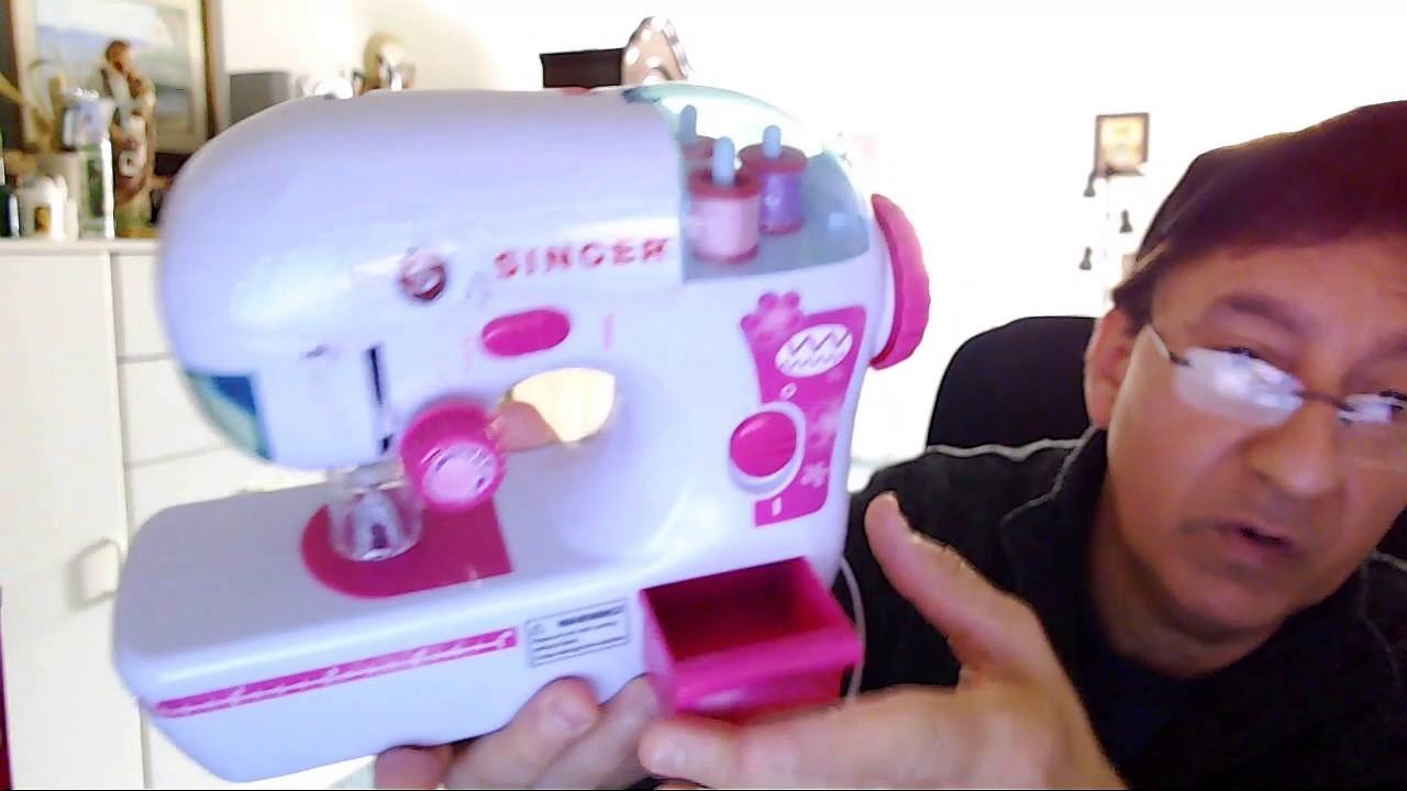 Singer toy child sewhandy sewing machine manual instructions 20 10.