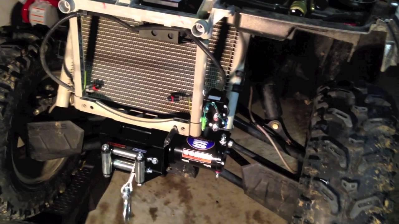 how to install a winch on a 2012 polaris sportman 550xp esp atv utv youtube [ 1280 x 720 Pixel ]
