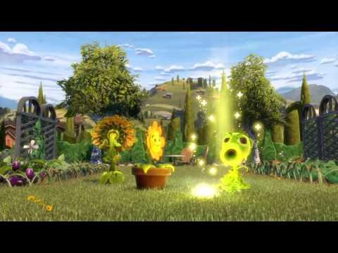 Sunflower - Sunbeam, Heal Flower, Heal Beam | Plants vs Zombies Garden Warfare [PS4]