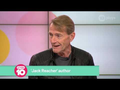 Author Lee Child Talks 'Jack Reacher' TV Series | Studio 10