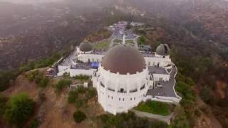 HD Drone Video - Venice Beach, Sta. Monica, & Griffith Observatory - Los Angeles