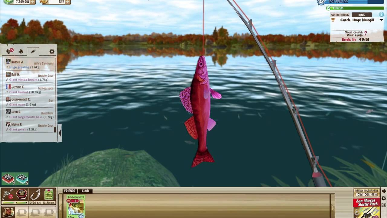 the fishing club 3d gameplay youtube