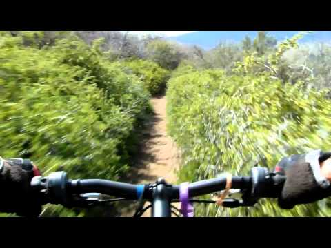 California Downhill Mountain Biking Angeles Forest Old Ridge Route Los Angeles County