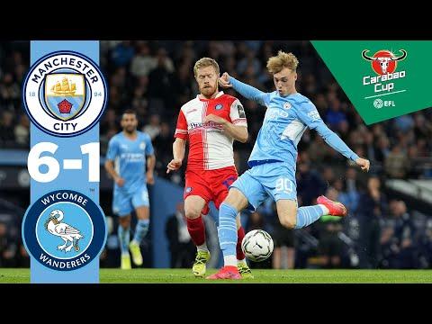 Man City Highlights |  CITY 6-1 WYCOMBE |  Carabao Cup |  De Bruyne, Mahrez, Foden, Torres, Palmer