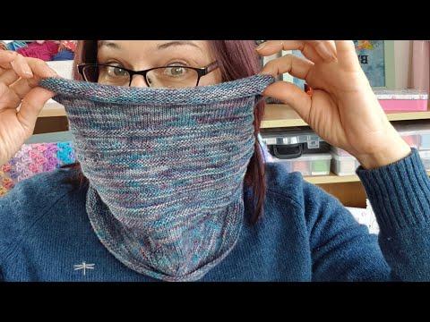 January Cowl Easy Free Knitting Pattern