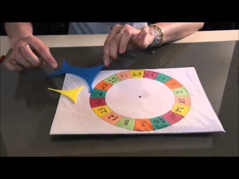 Como fazer uma roleta de papelao simples