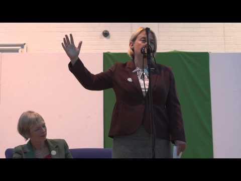 Natalie Bennett Scottish Greens on YES