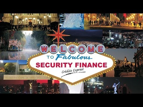 Security Finance Credit Express. USA y México. Evento Corporativo