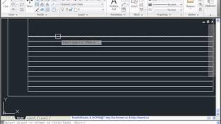 Чертим штамп и рамку в AutoCad 2011