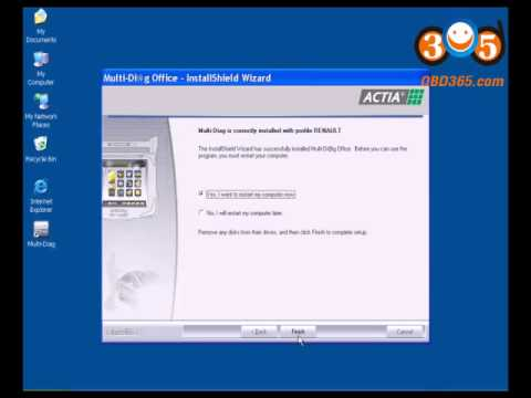 How to install V2011 Multi-Diag Access J2534 software