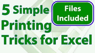5 Simple Printing Tricks for Excel