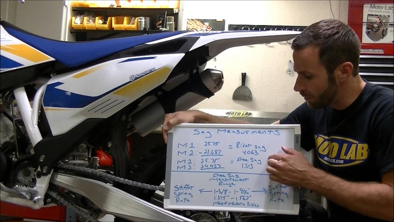 How To Adjust Your Dirt Bike Sag And Determine Proper