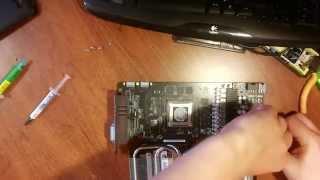 Как заменить термопасту на видеокарте ASUS gtx 770 и не лишиться гарантии.