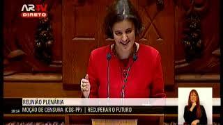 20-02-2019 | Moção de Censura (CDS-PP) ao XXI Governo Constitucional | Mariana Vieira da Silva